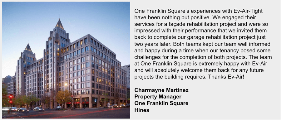 One Franklin Square Testimonial
