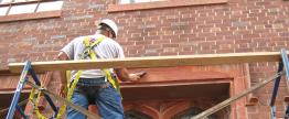 Luther Place Church repairs