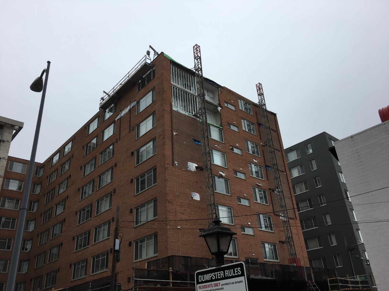 Claridge House Coop Facade Reconstruction 10