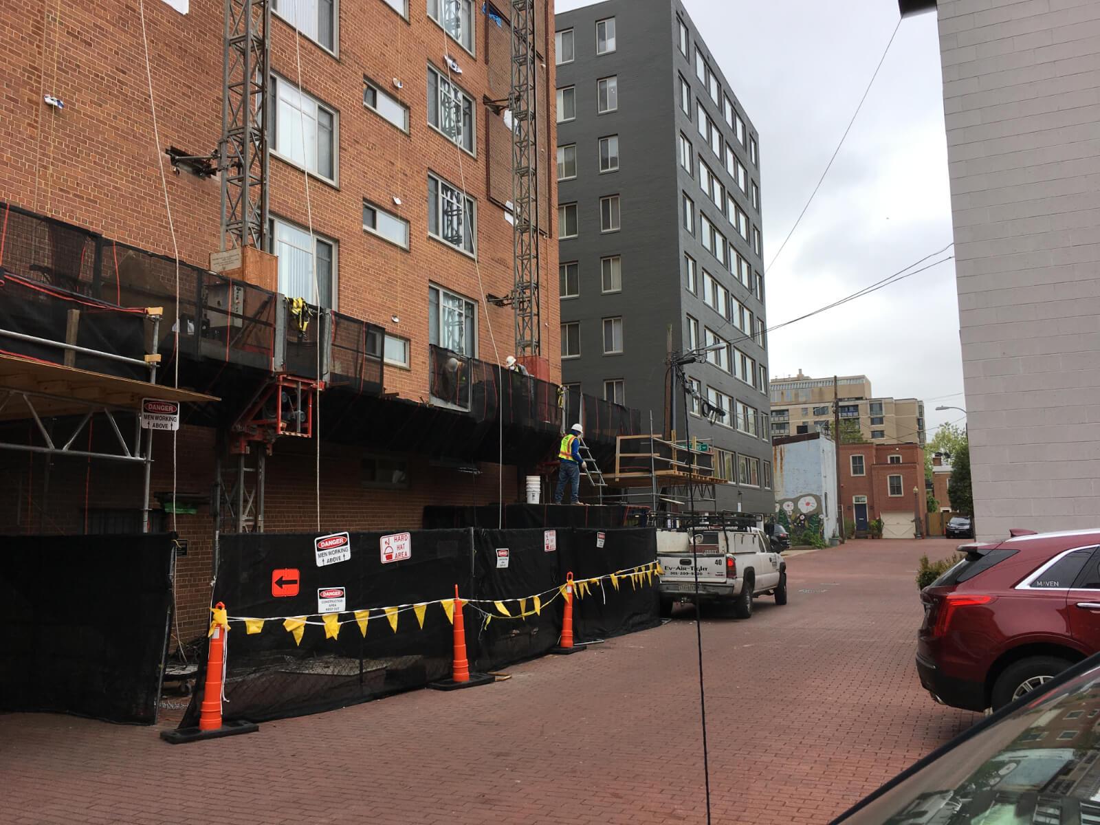 Claridge House Coop Facade Reconstruction 12