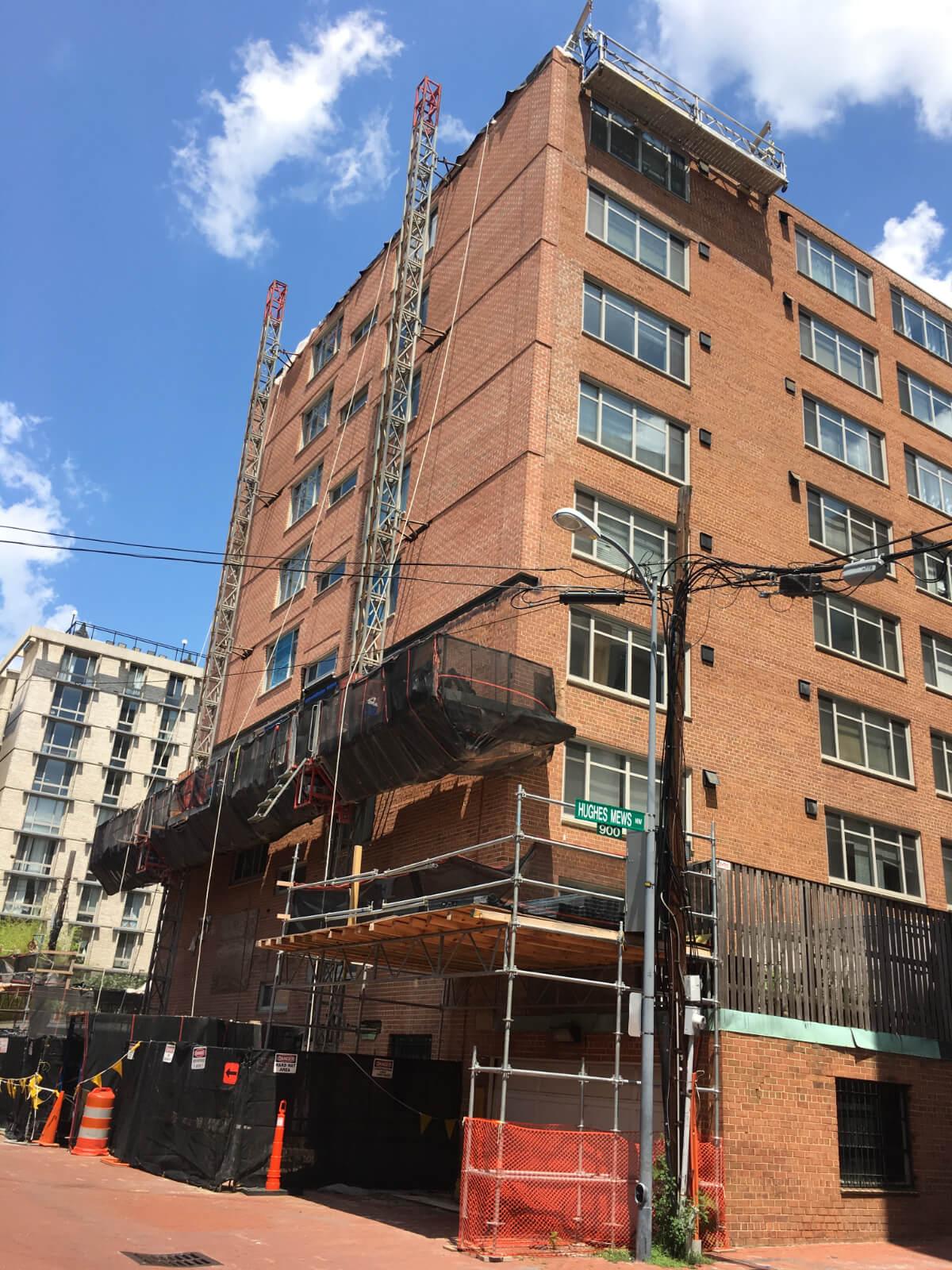 Claridge House Coop Facade Reconstruction 15