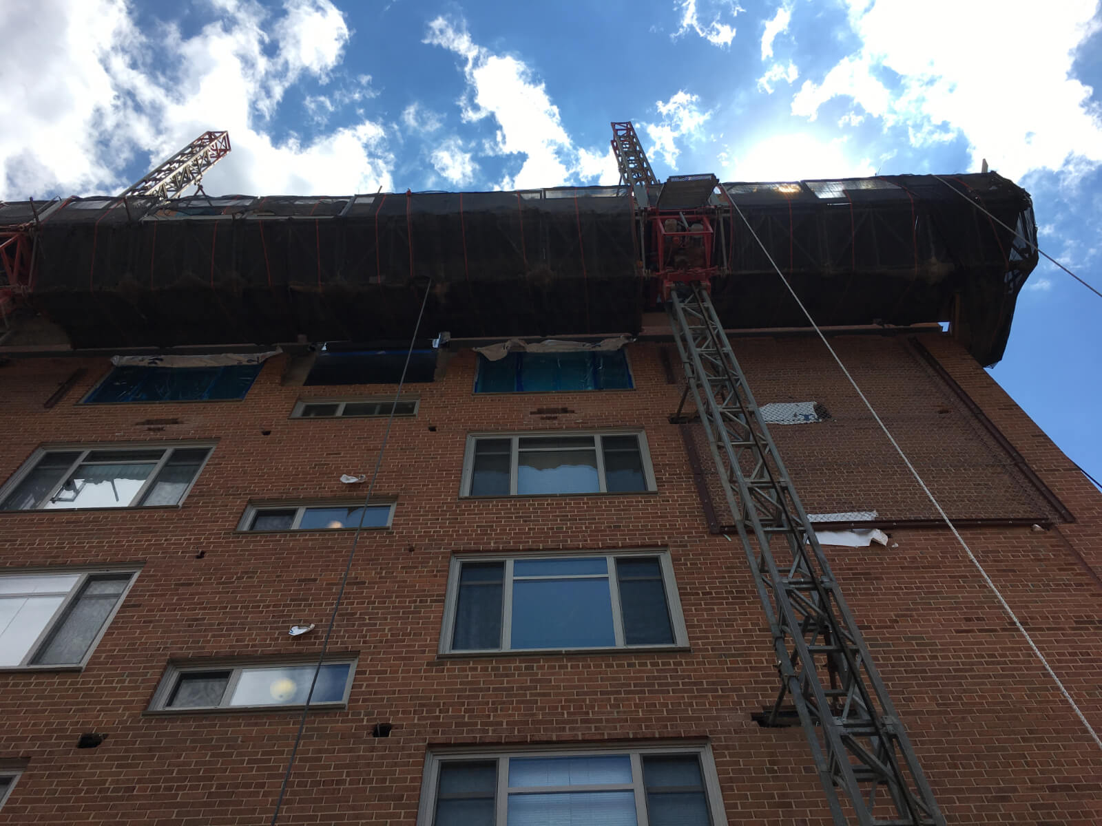 Claridge House Coop Facade Reconstruction 16