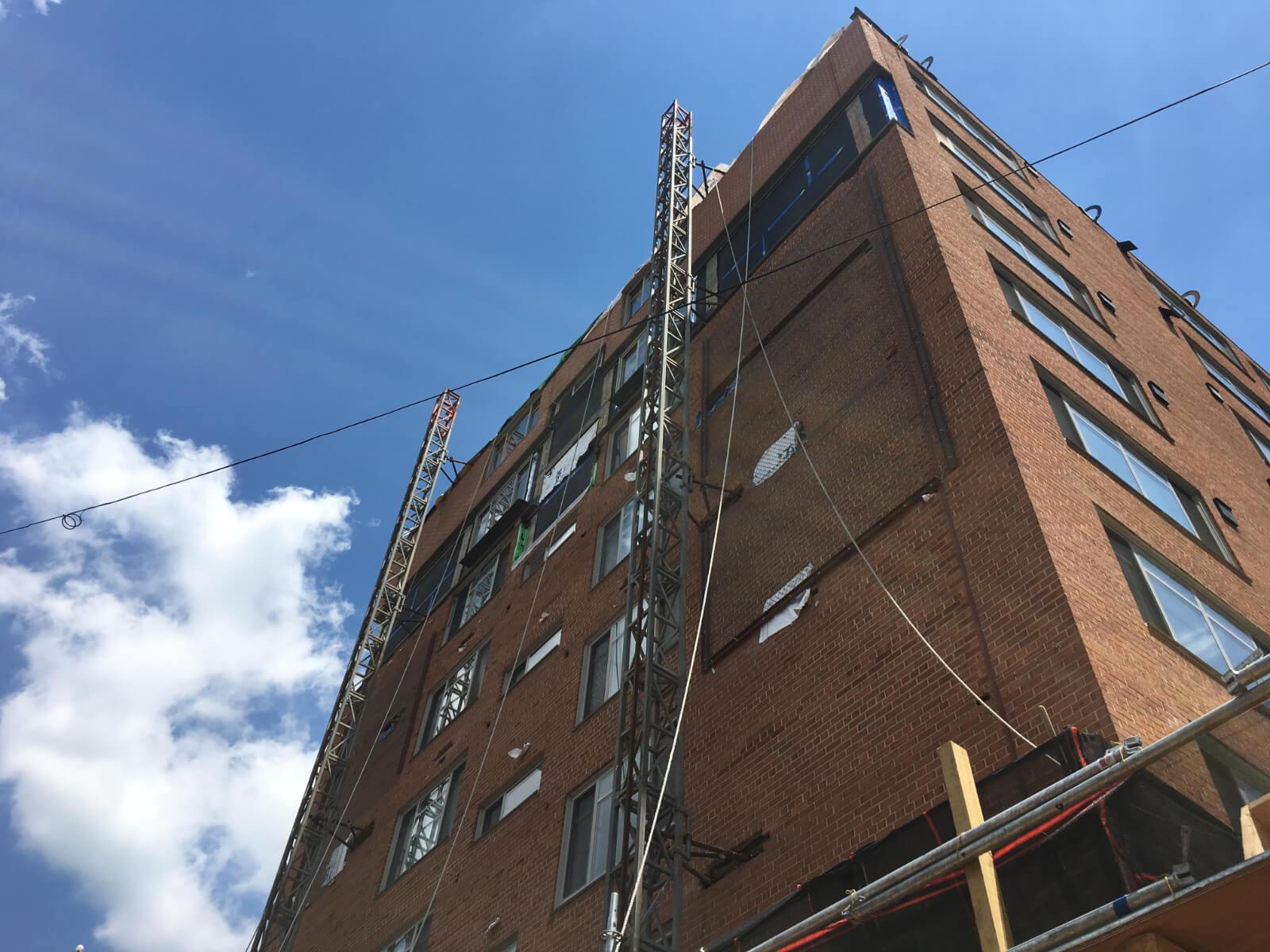 Claridge House Coop Facade Reconstruction 17