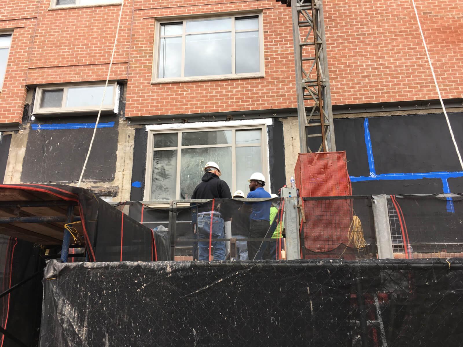 Claridge House Coop Facade Reconstruction 2