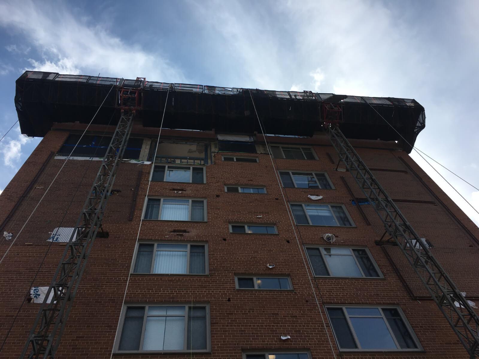 Claridge House Coop Facade Reconstruction 4