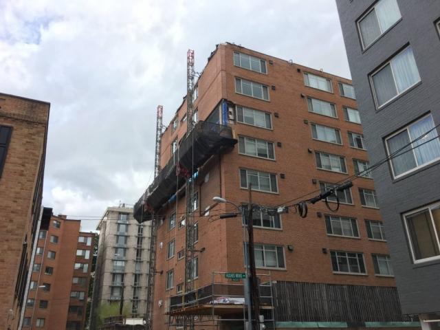 Claridge House Coop Facade Reconstruction 6
