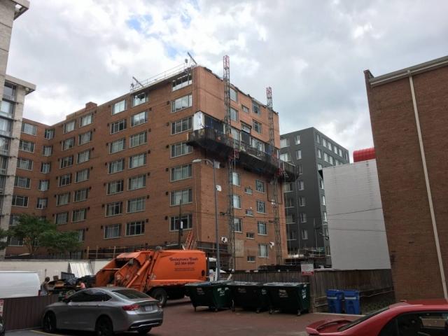 Claridge House Coop Facade Reconstruction 7