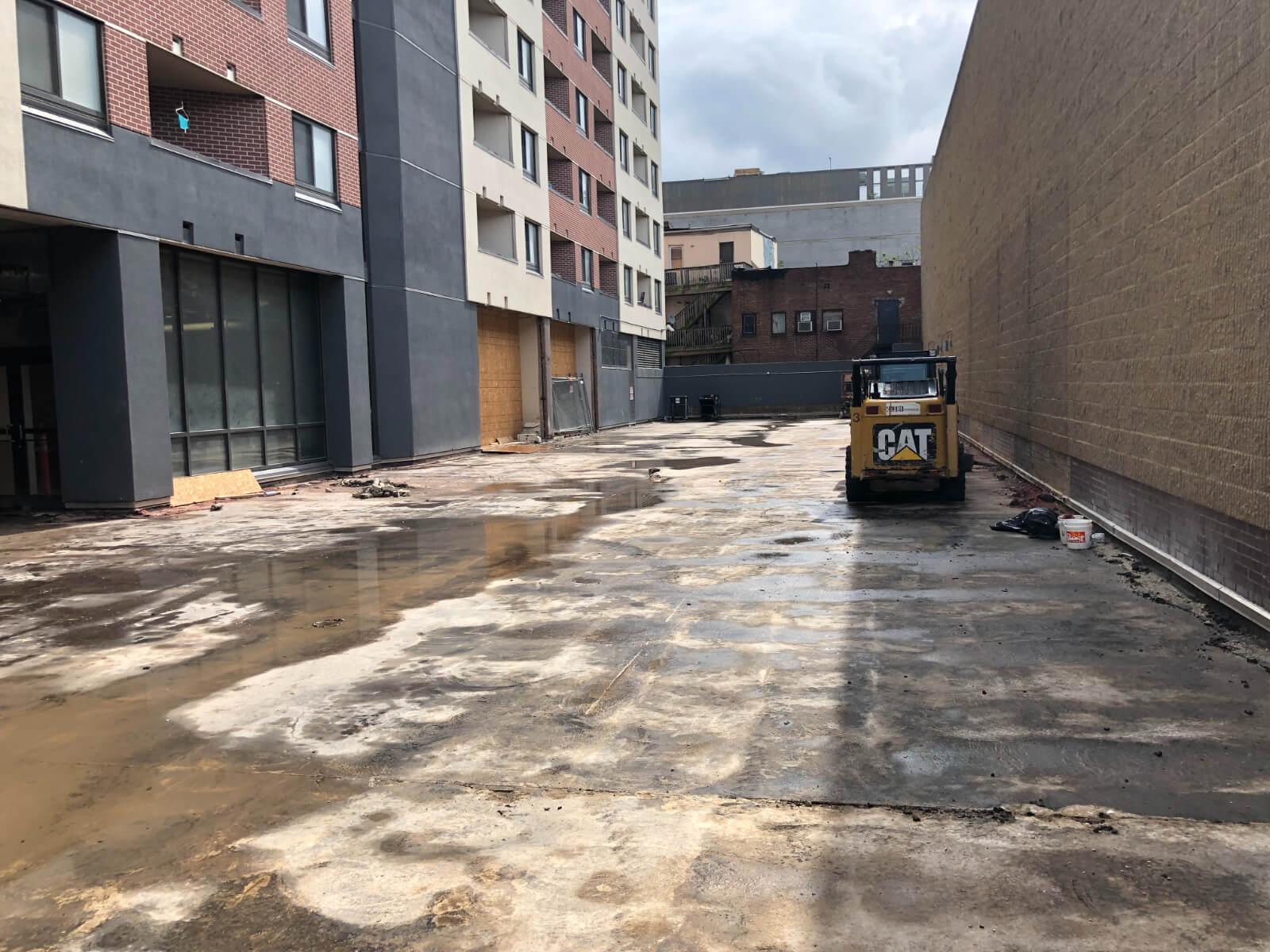 J Van Story Branch Apts Coating Removal 1