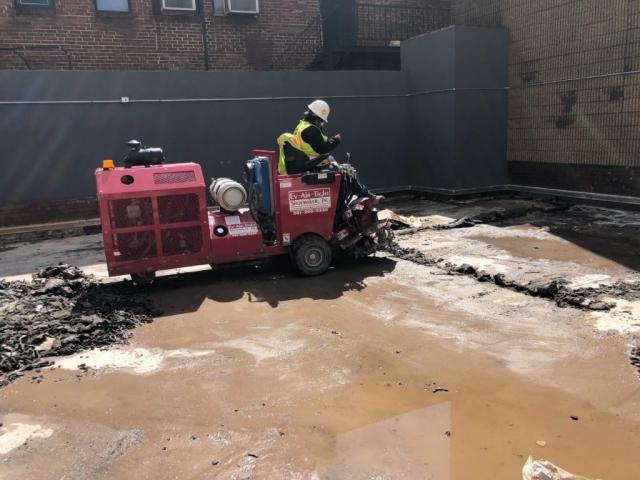 J Van Story Branch Apts Coating Removal 6