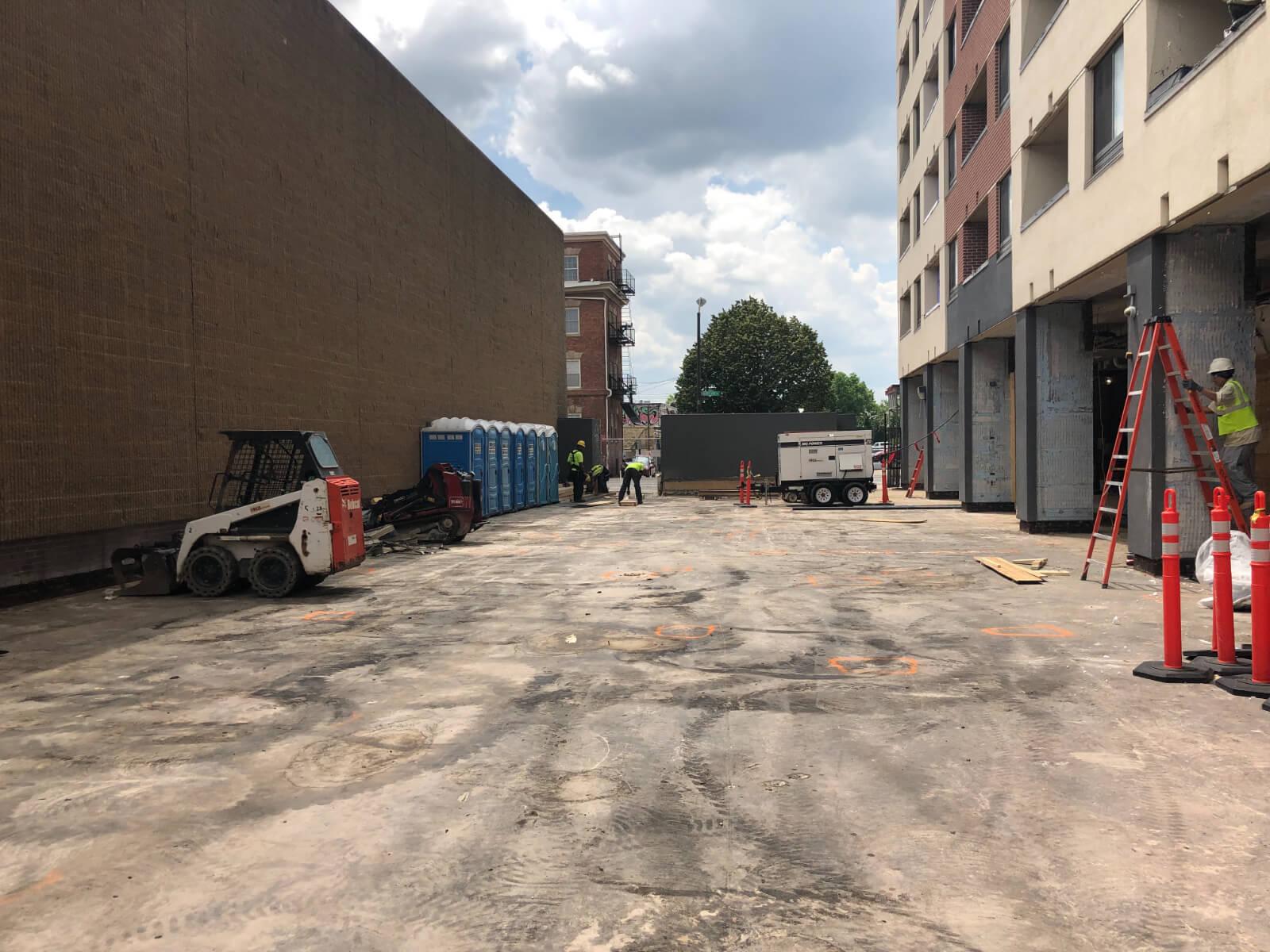 J Van Story Branch Apts Coating Removal 7