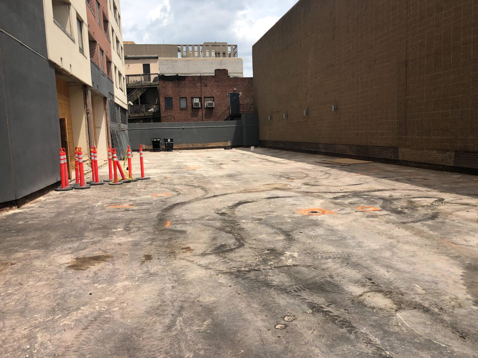 J Van Story Branch Apts Coating Removal 8