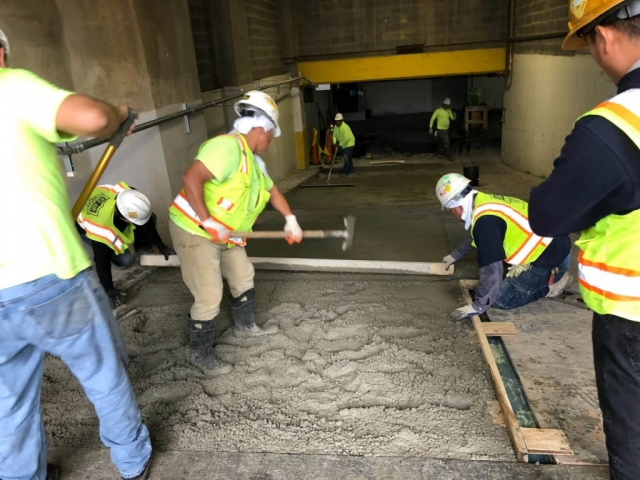 J Van Story Branch Apts Garage Concrete Rehab 1