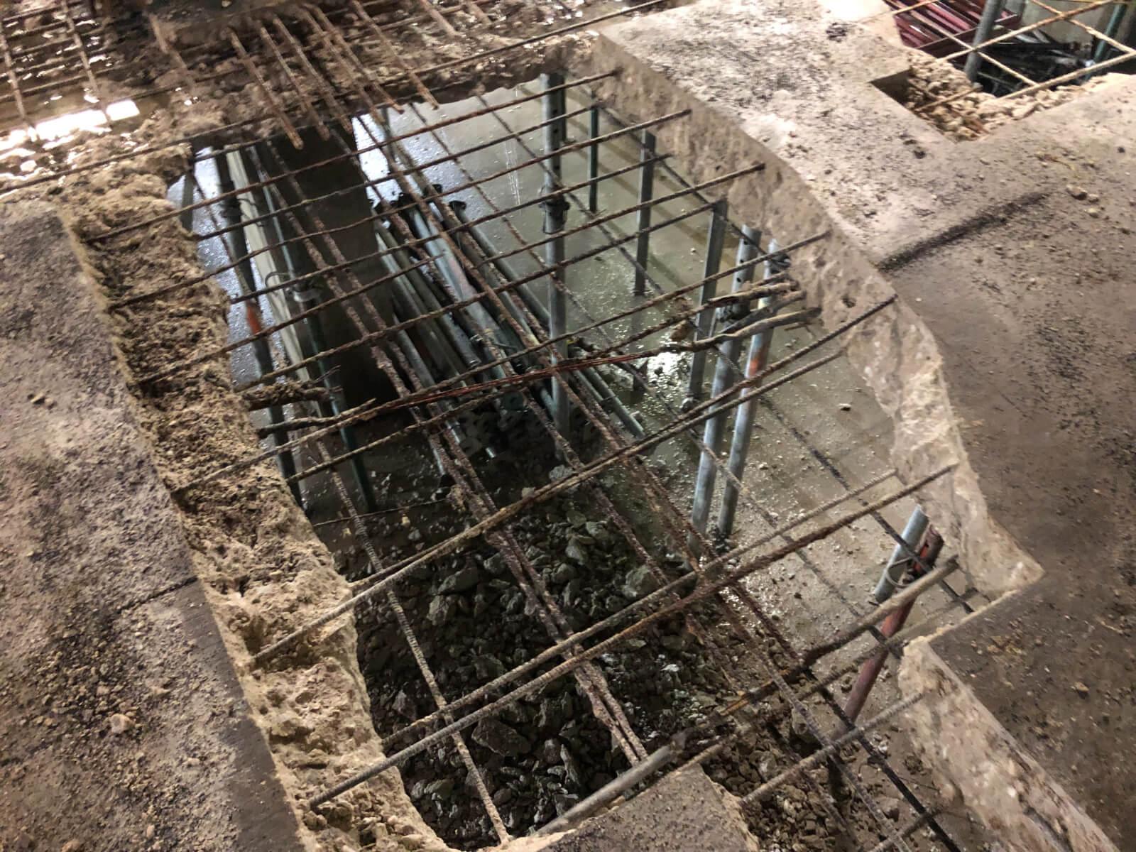 J Van Story Branch Apts Garage Concrete Rehab 11