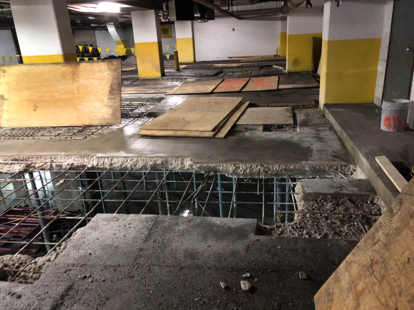 J Van Story Branch Apts Garage Concrete Rehab 12