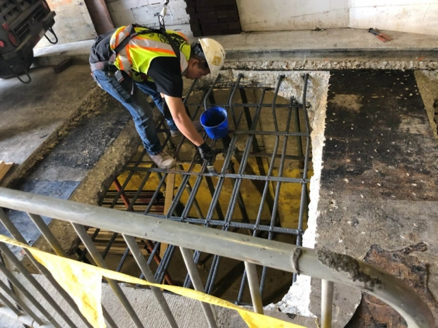 J Van Story Branch Apts Garage Concrete Rehab 16