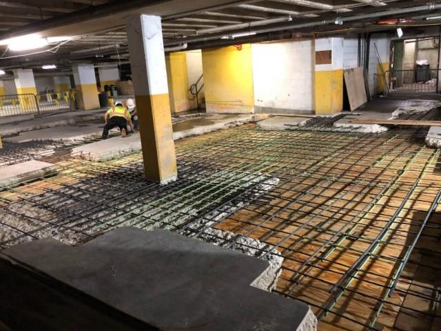 J Van Story Branch Apts Garage Concrete Rehab 18