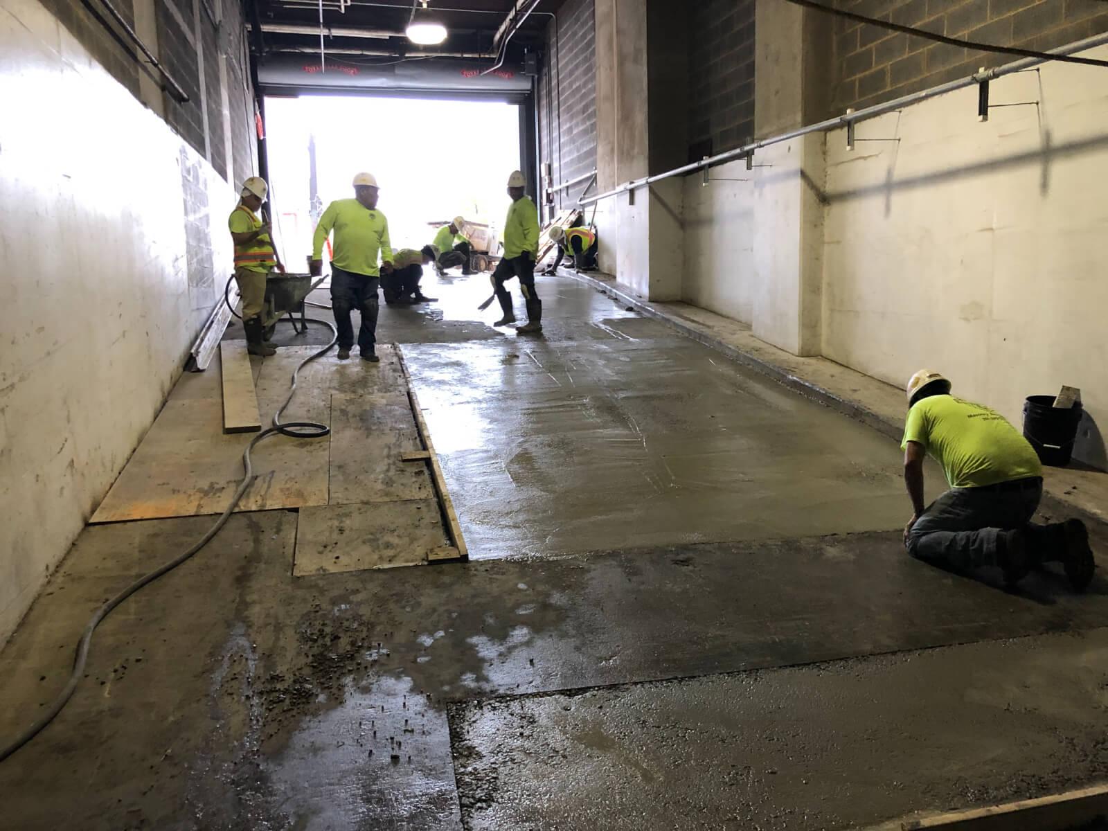 J Van Story Branch Apts Garage Concrete Rehab 2