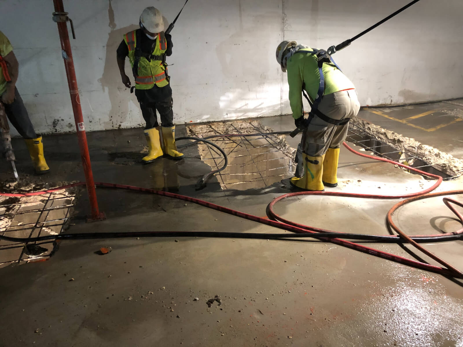 J Van Story Branch Apts Garage Concrete Rehab 20
