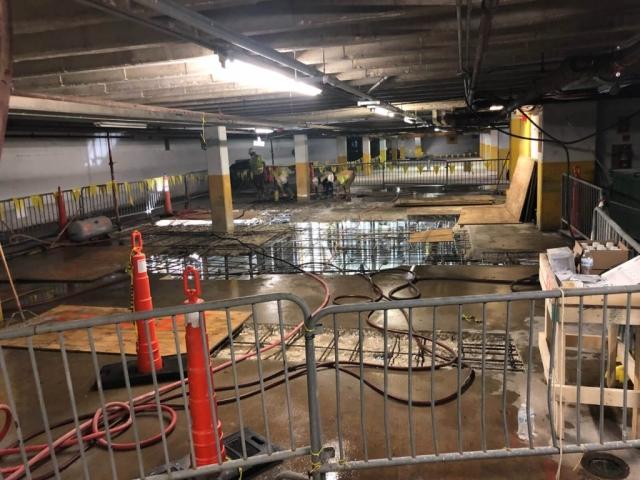 J Van Story Branch Apts Garage Concrete Rehab 21