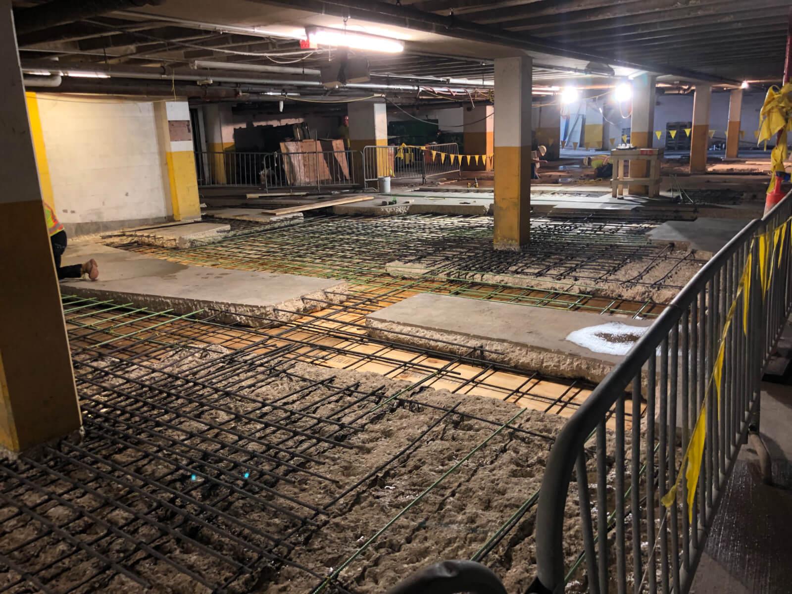 J Van Story Branch Apts Garage Concrete Rehab 22