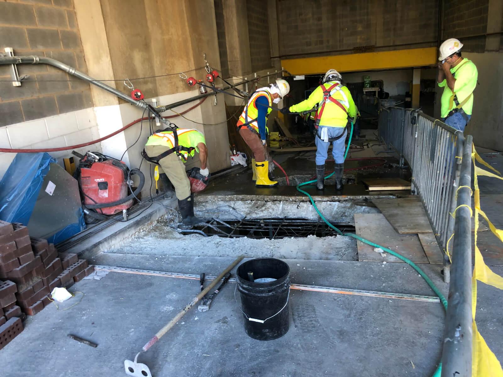 J Van Story Branch Apts Garage Concrete Rehab 23