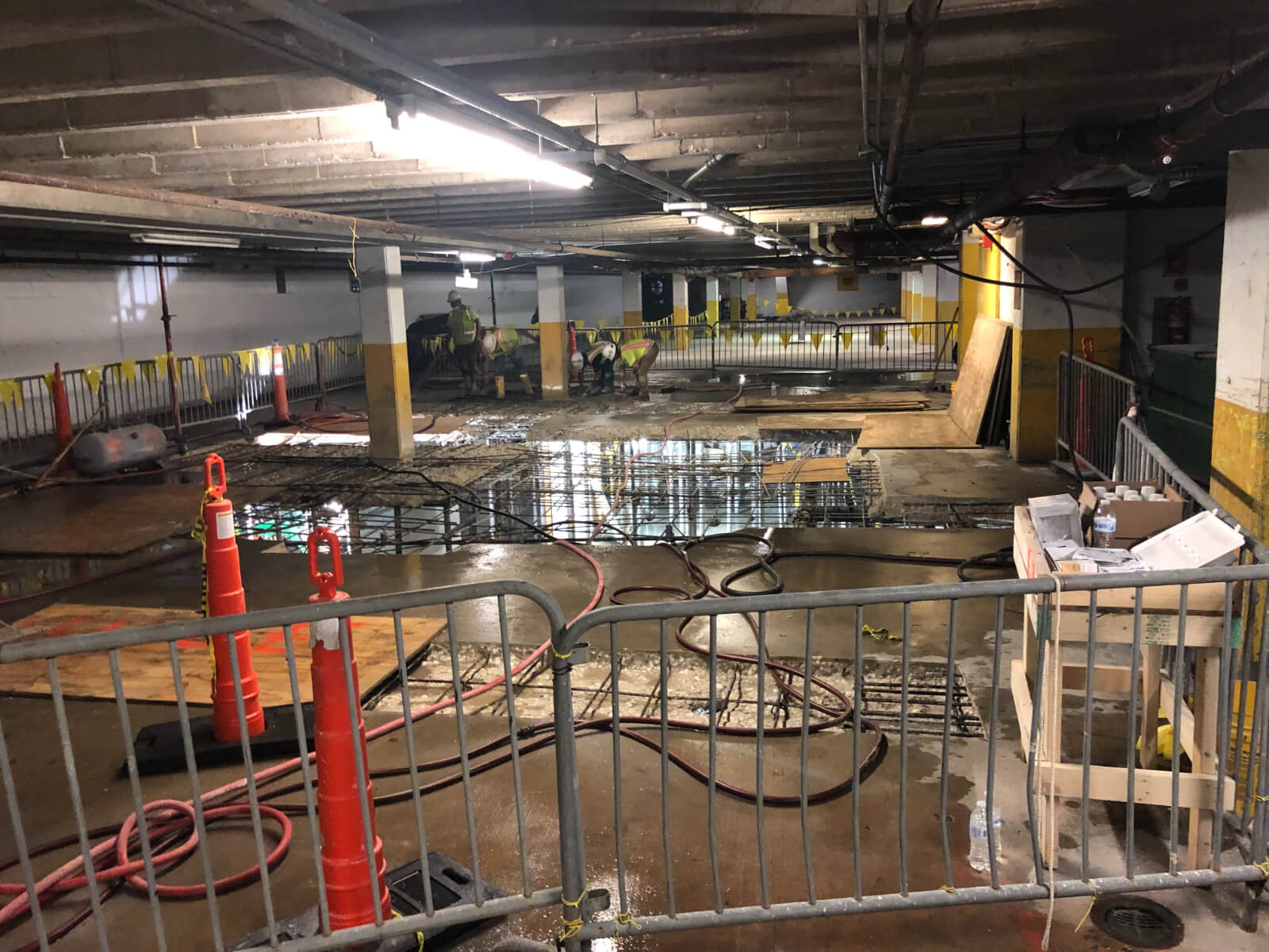J Van Story Branch Apts Garage Concrete Rehab 27