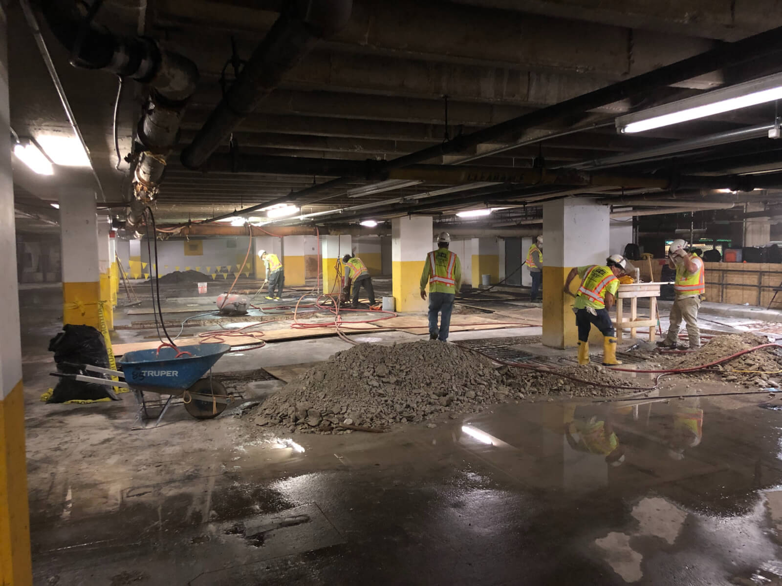 J Van Story Branch Apts Garage Concrete Rehab 28