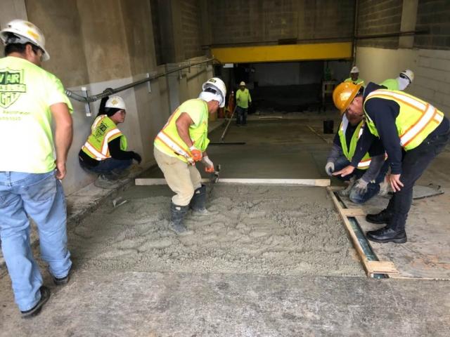 J Van Story Branch Apts Garage Concrete Rehab 3