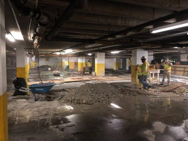 J Van Story Branch Apts Garage Concrete Rehab 4