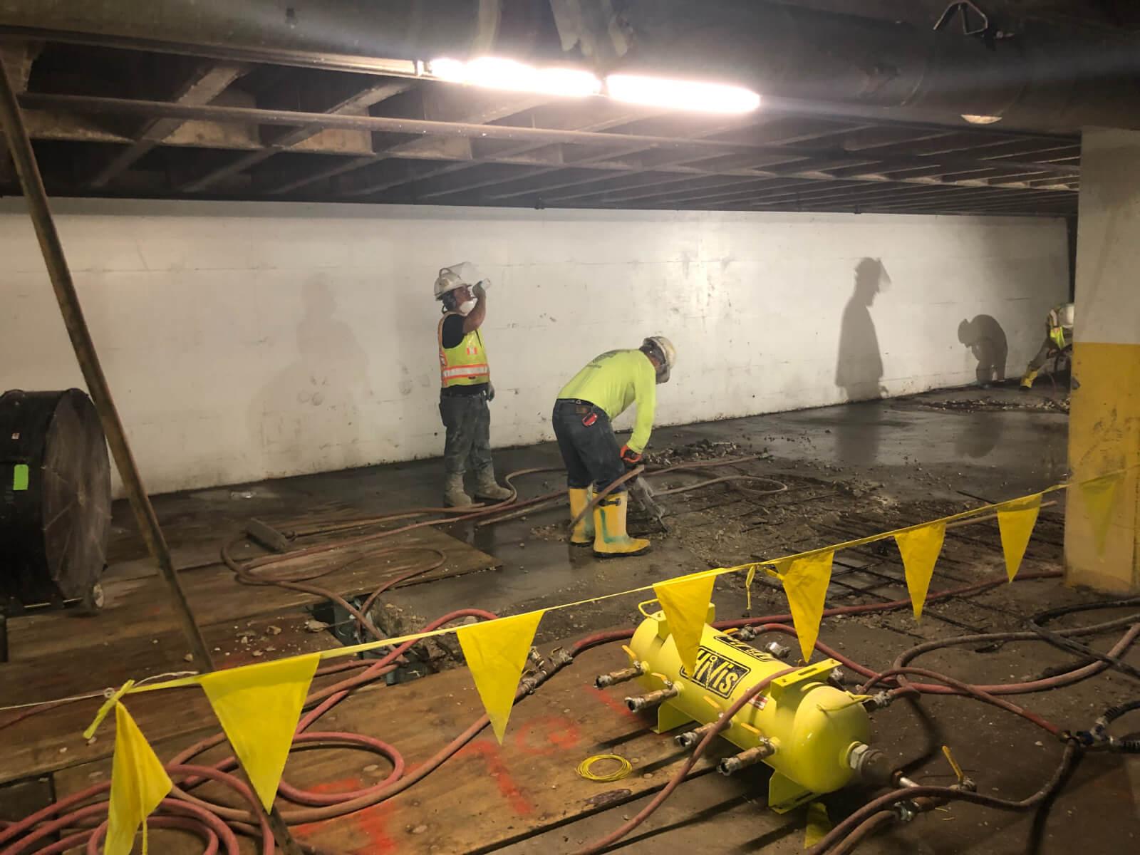 J Van Story Branch Apts Garage Concrete Rehab 5