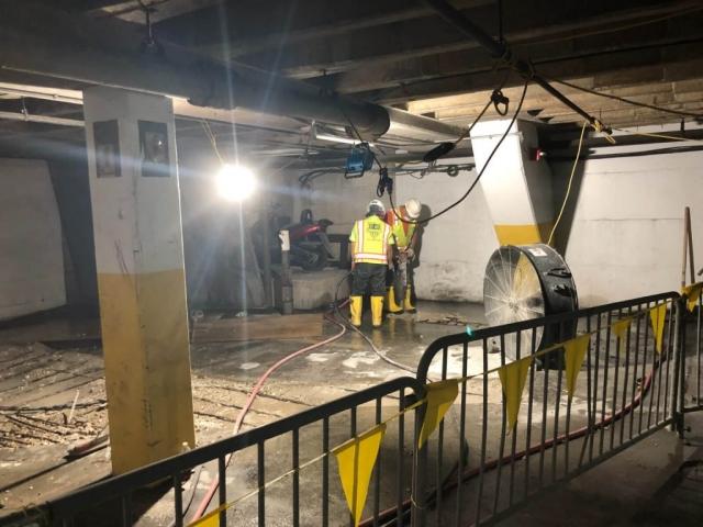 J Van Story Branch Apts Garage Concrete Rehab 7
