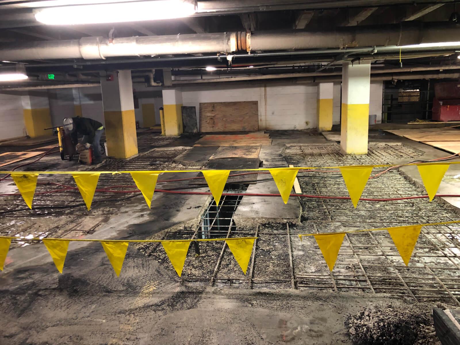 J Van Story Branch Apts Garage Concrete Rehab 8