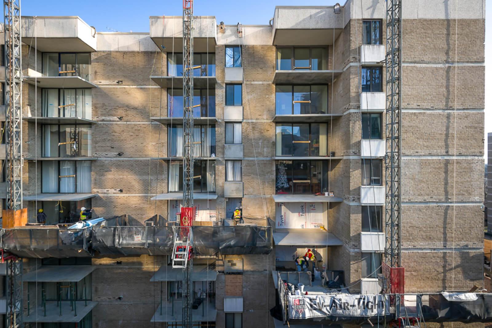 The Americana Condo Facade And Balcony Rehabilitation 11