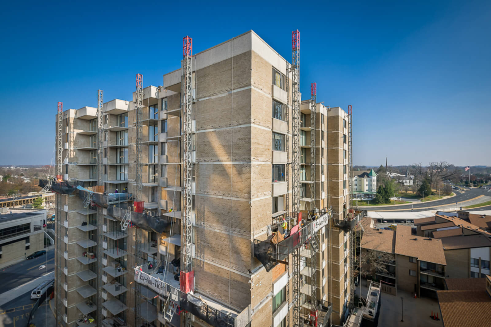 The Americana Condo Facade And Balcony Rehabilitation 6